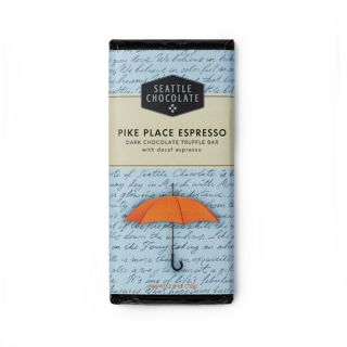Seattle Chocolates - Pike Place Espresso Truffle Bar - 2.5 oz