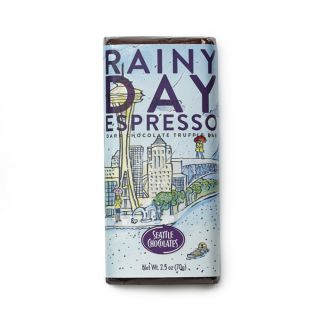 Seattle Chocolates - Rainy Day Espresso Truffle Bar - 2.5 oz