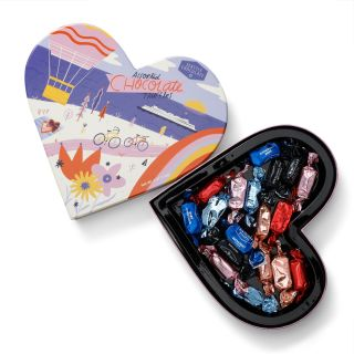 Seattle Chocolates - Take Me Anywhere Heart Truffle Box - 6 oz