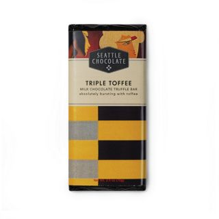 Seattle Chocolates - Triple Toffee Truffle Bar - 2.5 oz