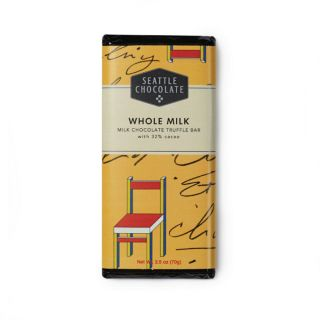 Seattle Chocolates - Whole Milk Truffle Bar - 2.5 oz