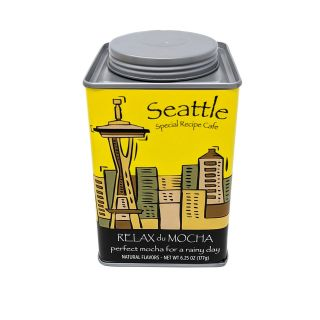 Seattle Relax du Mocha - Perfect Mocha for a Rainy Day Mix - 6.25oz