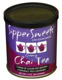 Sipper Sweets Low Sugar Drinks - Creamy Chai Tea - 3 oz