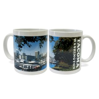 Tacoma Marina View - 11oz Ceramic Mug