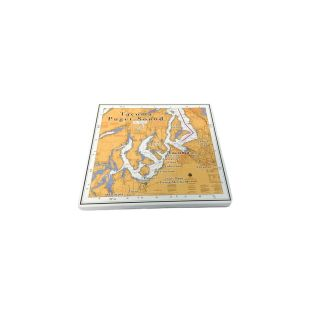 Tacoma & South Puget Sound Ceramic Coaster - 4.25