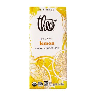 Theo Chocolate - Lemon Milk Chocolate Award-Winning Bar - 3oz