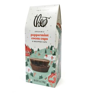 Theo Chocolate - Peppermint Cocoa Cups - 5oz
