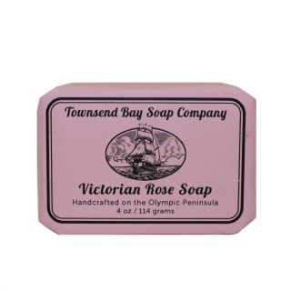 Victorian Rose Soap - Townsend Bay Soap Company - 4oz