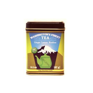 Washington's Finest Tea - Ginger Lemon Rooibos (Loose Leaf) - 3.1 oz
