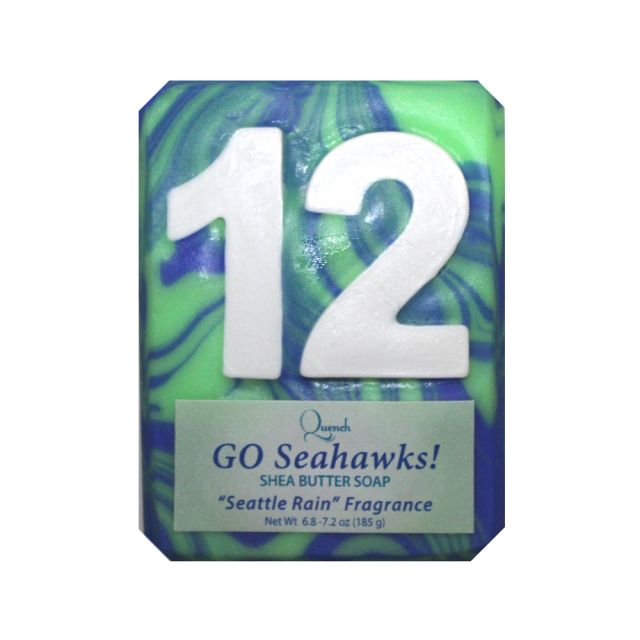 12th Man Seahawks Shea Butter Soap - Quench - 5.5 oz