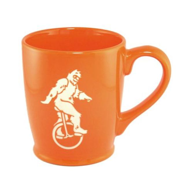Bigfoot Mug - Orange -16 oz