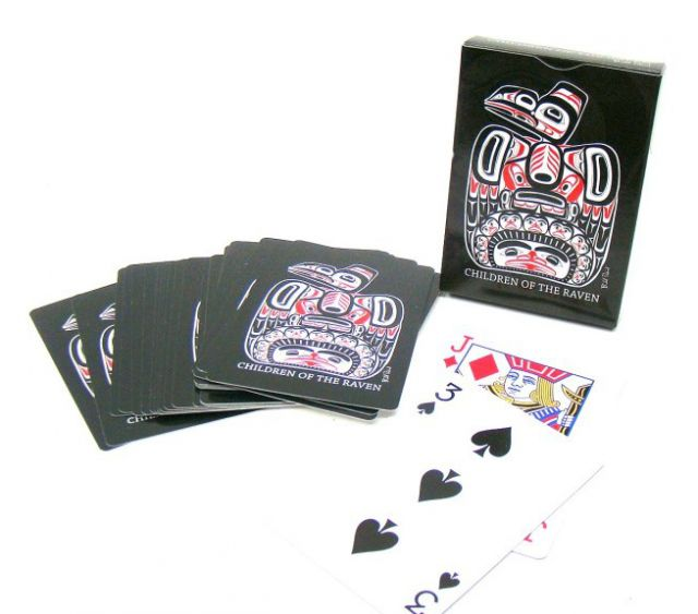 Children of the Raven - Native American Design Playing Cards - By Bill Reid