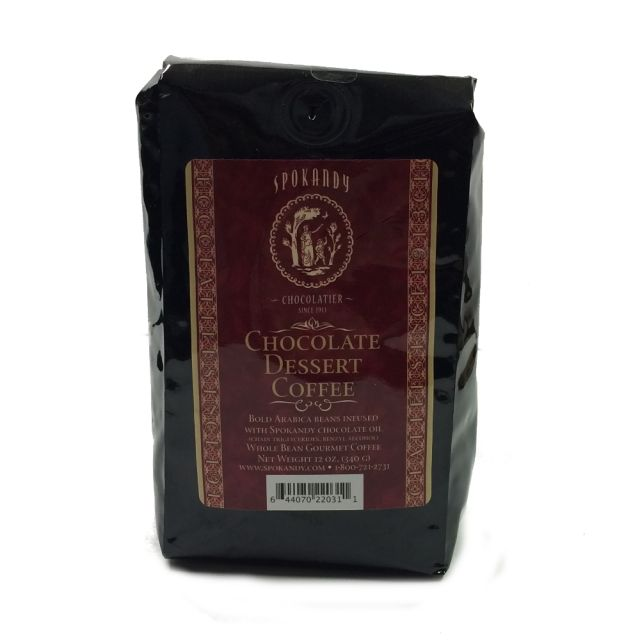 Chocolate Dessert Coffee - Whole Bean - 12 oz