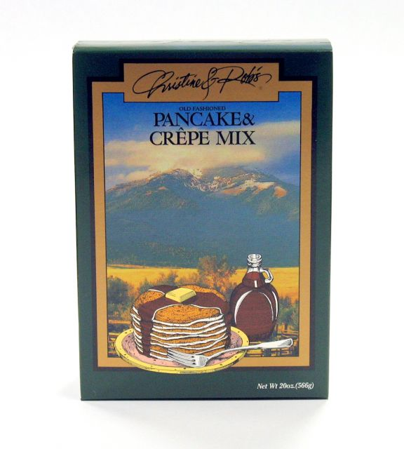 Christine and Rob's Old Fashioned Pancake and Crepe Mix - 20 oz