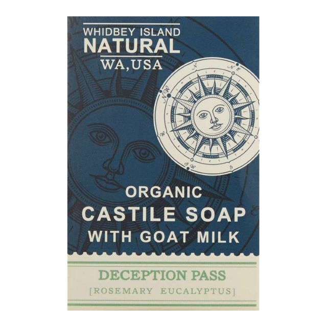 Deception Pass Rosemary Eucalyptus Soap - Whidbey Island Natural - 4.2oz