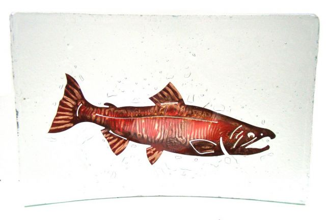 Jones Glassworks - Salmon Platter - 10