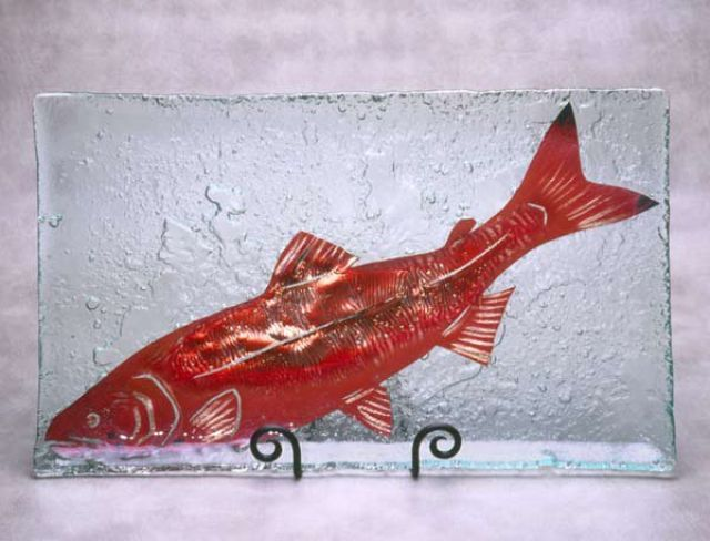 Jones Glassworks - Sockeye Salmon Platter - 14