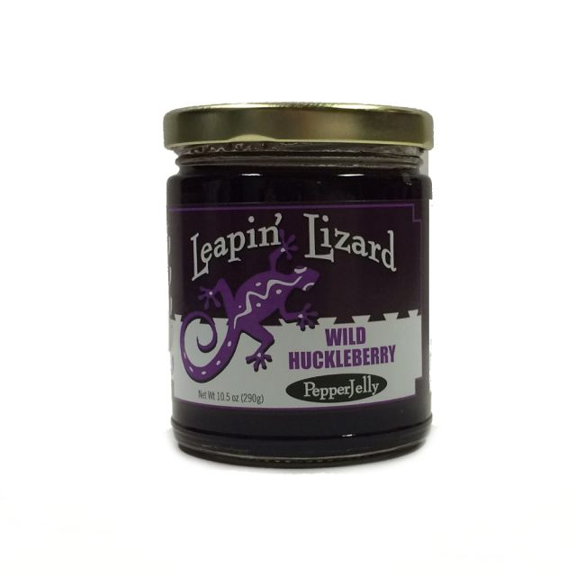 Leapin' Lizard - Wild Huckleberry Pepper Jelly - 10.5 oz