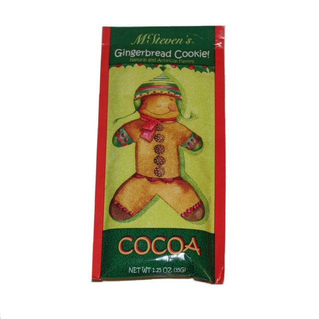 McSteven's Gingerbread Cookie Cocoa - 1.25 oz