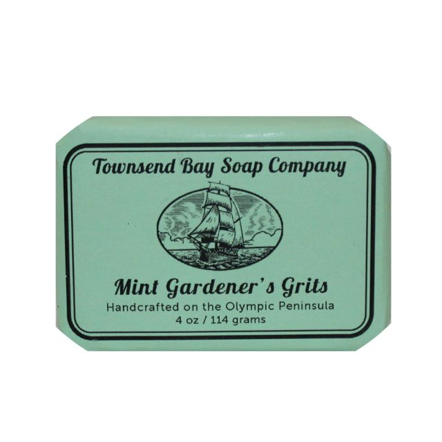 Mint Gardener's Grits - Townsend Bay Soap Company - 4oz