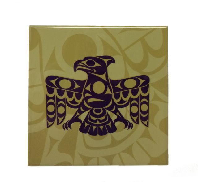 Native American - Thunderbird Design - Trivet