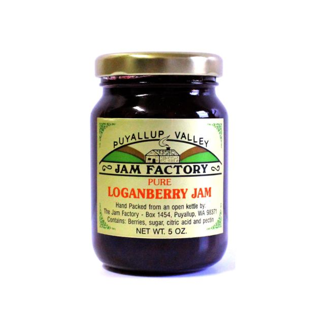 Puyallup Valley Jam Factory - Loganberry Jam, 5oz