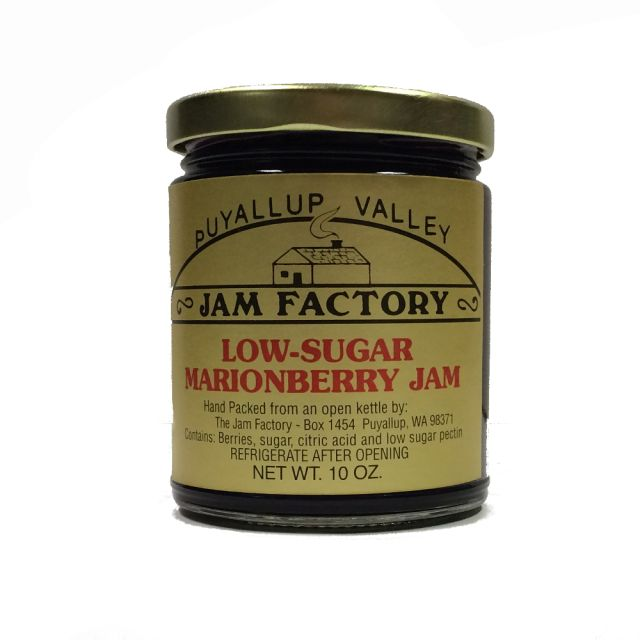 Puyallup Valley Jam Factory - Low Sugar Marionberry Jam - 10 oz