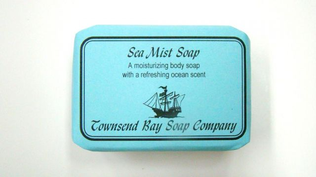 Sea Mist Soap - Townsend Bay Soap Company - Approx. 4 oz