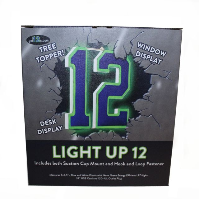Seahawks - Light Up 12 - 8 x 8.5