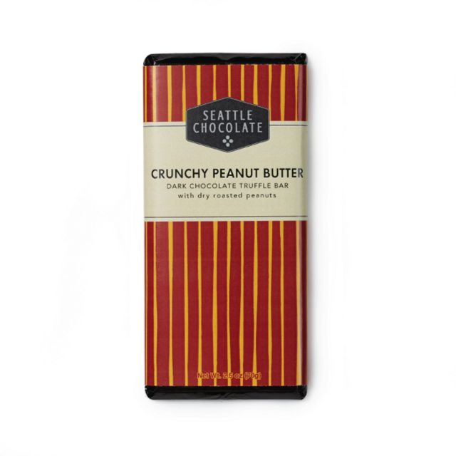Seattle Chocolates - Crunchy Peanut Butter - 2.5 oz
