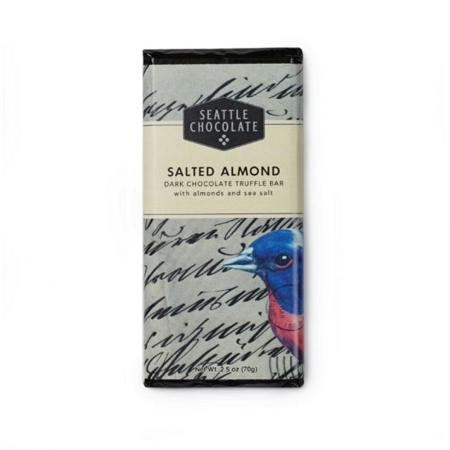 Seattle Chocolates - Salted Almond Truffle Bar - 2.5 oz