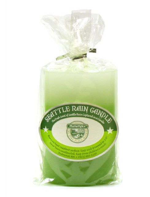 Seattle Rain Candle by Market Spice Tea