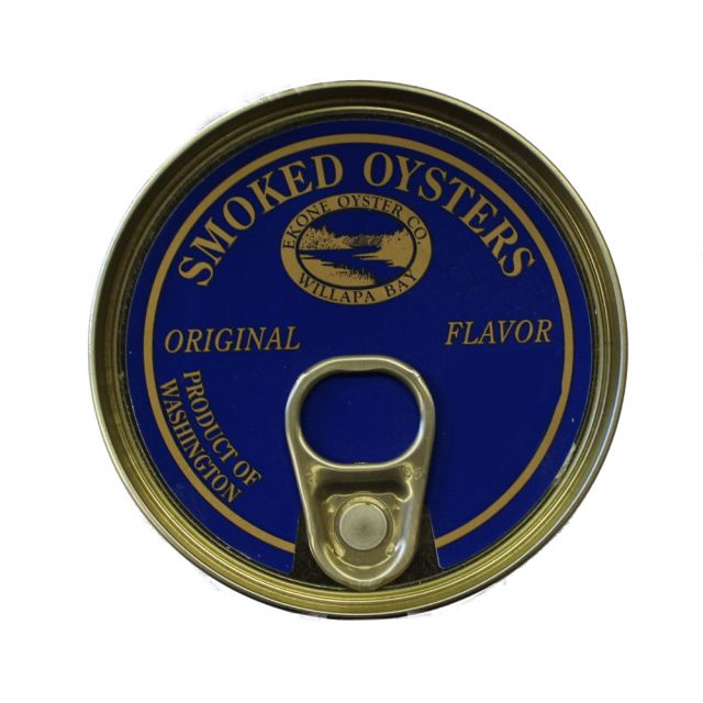 Smoked Oysters - Original Flavor - 3 oz