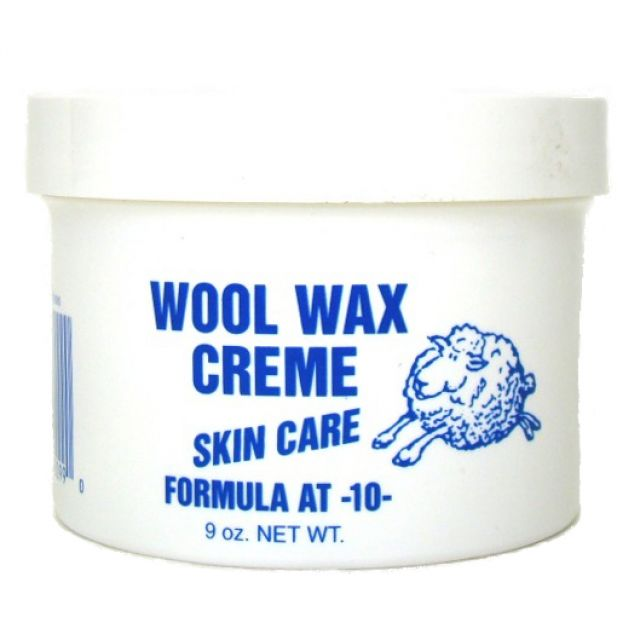 Wool Wax Creme Skin Care - 9 oz